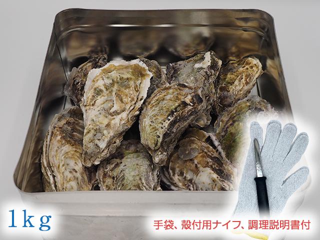 【冷凍】広島かきの缶かん焼きセット1kg