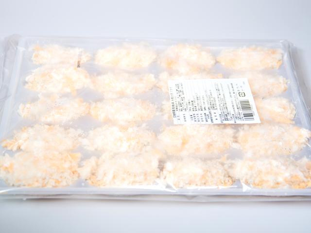 広島県能美島産 大粒の牡蠣フライ