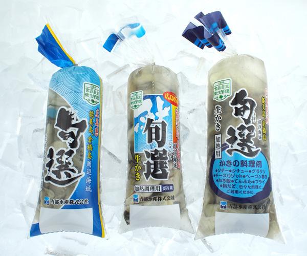 広島産生かき 加熱用中袋